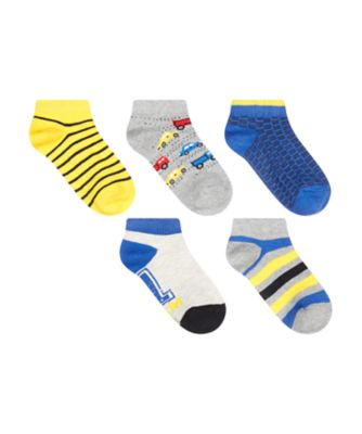 Mothercare Car Trainer Liner Socks - 5 Pack