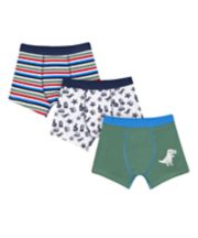Mothercare Dino Trunks - 3 Pack