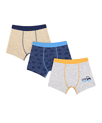 Mothercare Planet Trunks - 3 Pack