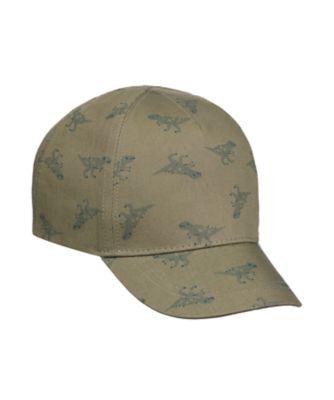 Mothercare Khaki Dinosaur Cap