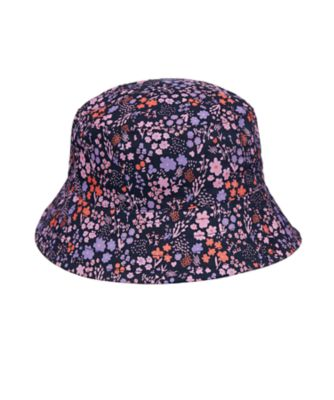 Mothercare Navy Floral Fisherman Sun Hat