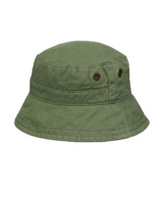 Mothercare Washed Khaki Twill Fishmerman Sun Hat