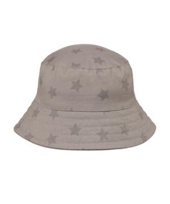 Mothercare Grey Star Fisherman Sun Hat