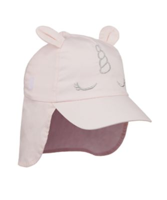 Mothercare Pink Unicorn Keppi Hat With Ears