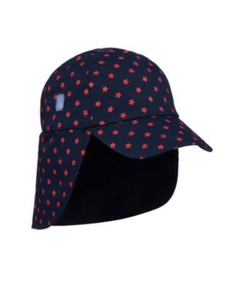 Mothercare Star Print Sun-Safe Keppi Hat