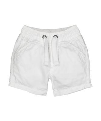 Mothercare MC61 White Poplin Shorts