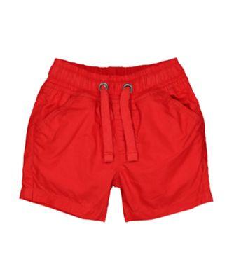 Mothercare MC61 Red Poplin Shorts