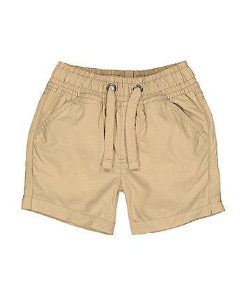 Mothercare Stone Poplin Shorts