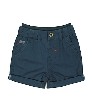Mothercare Navy Chino Shorts