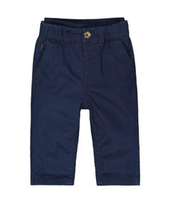 Mothercare MC61 Navy Chino Trouser