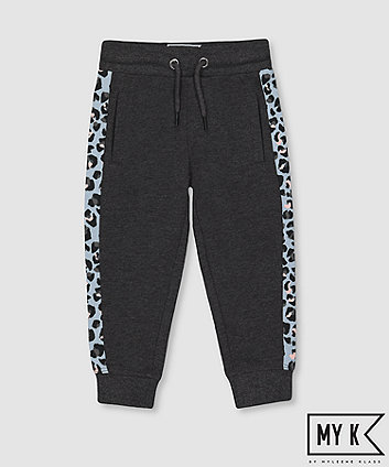 Mothercare Fashion My K Leopard Panel Joggers