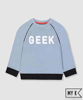 Mothercare Fashion My K Geek Sweat Top