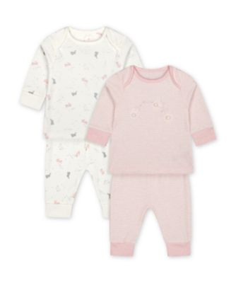 Mothercare My First Bunny Pyjamas - 2 Pack
