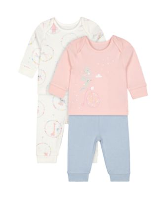 Mothercare Circus Animal Pyjamas - 2 Pack