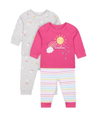 Mothercare You'Re My Sunshine Pyjamas - 2 Pack