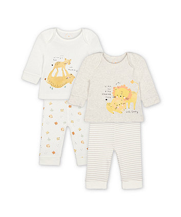Mothercare Mummy And Daddy Pyjamas - 2 Pack