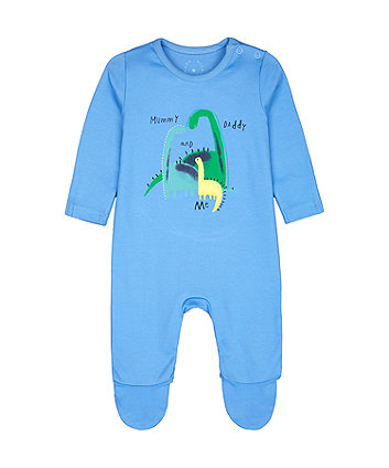 Mothercare Mummy And Daddy Dinosaur All In One