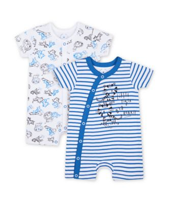 Mothercare Wild One Rompers - 2 Pack