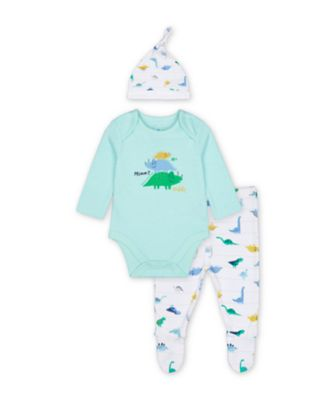 Mothercare Mummy And Daddy Dinosaur 3 Piece Set