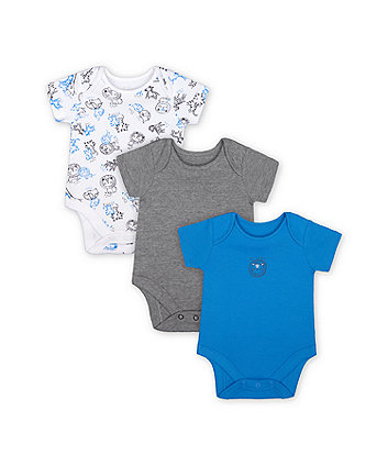 Mothercare Wild One Bodysuits - 3 Pack