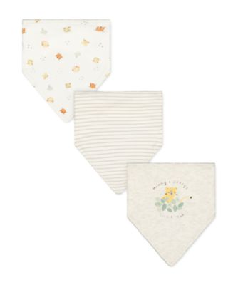 Mothercare Mummy And Daddy Little Cub Bibs - 3 Pack