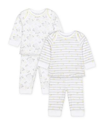 Mothercare Floral Pyjamas - 2 Pack