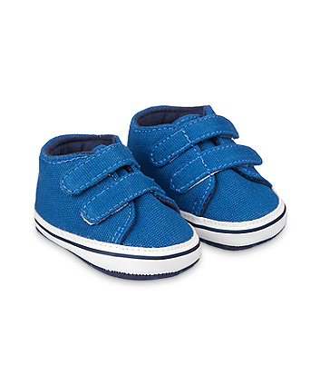Mothercare Blue Pram Trainers
