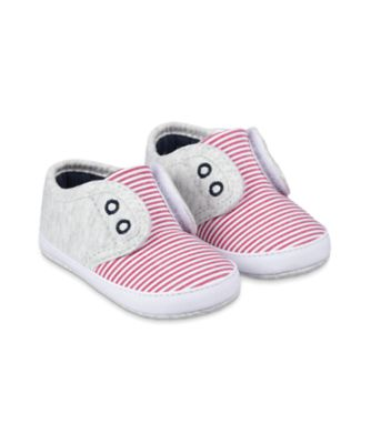 Mothercare Stripe Laceless Pram Shoes