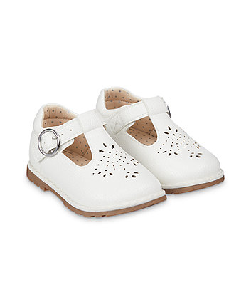 Mothercare First Walker White T-Bar Shoes