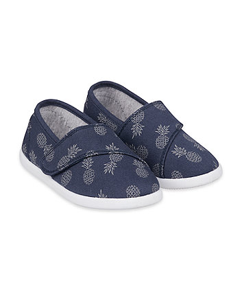 Mothercare Pineapple Canvas Pumps