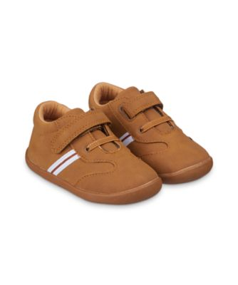 Mothercare Baby Boys Tan Striped Crawler Shoes
