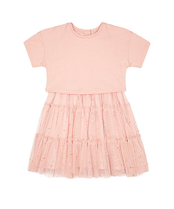 Mothercare Fashion Pink Twofer Dress