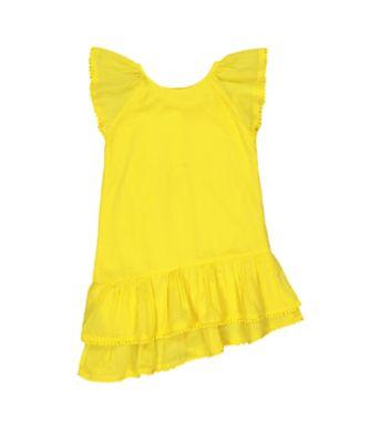 Mothercare Navy Pop Yellow Wrap Woven Dress