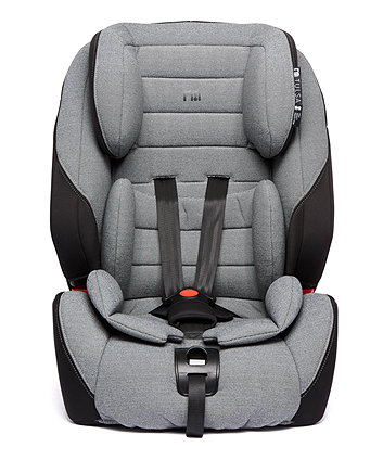Mothercare Tulsa Isofix Highback Booster Car Seat With Harness - Grey