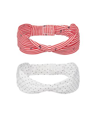 Mothercare Parasol Spot And Striped Headbands - 2 Pack