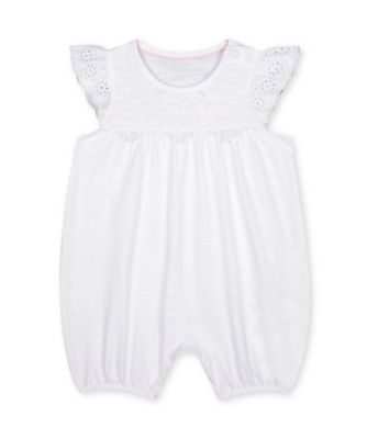 Mothercare Parasol White Broderie Rompers