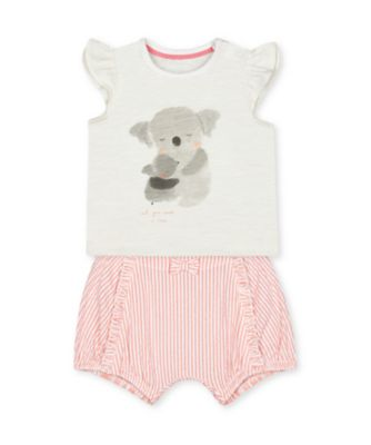 Mothercare Little Jungle Koala T-Shirt And Shorts Set
