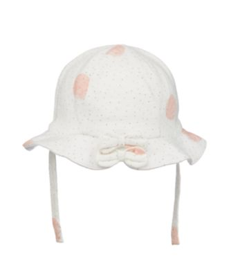 Mothercare Little Jungle Spotty Jersey Sun Hat