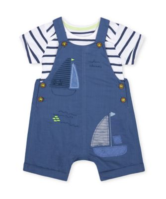 Mothercare Under The Sea Boat Bibshort Set