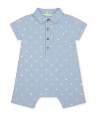 Mothercare Under The Sea Chambray Romper