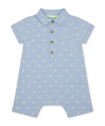 Mothercare Chambray Romper