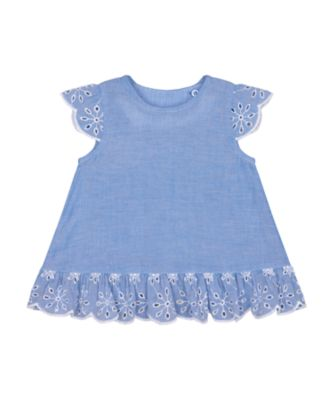 Mothercare Fairytale Chambray Broderie Blouse