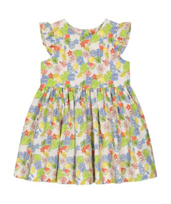 Mothercare Fresh Dress Floral Woven Dress