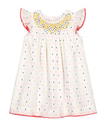 Mothercare Neon Dobby Dress