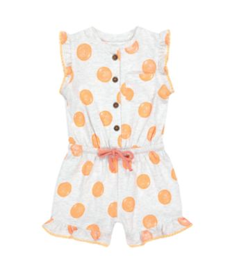 Mothercare Fresh Dress Grey Spot Playsuit