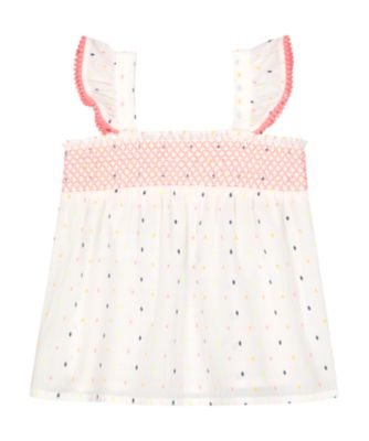 Mothercare Fresh Dress Neon Dobby Woven Cami Top