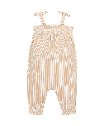 Mothercare Fashion Striped Jumpsuit