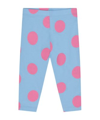 Mothercare Statement Blue Spot Leggings