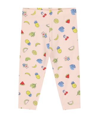 Mothercare Statement Pink Fruit Leggings