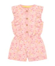 Mothercare Pink Floral Playsuit